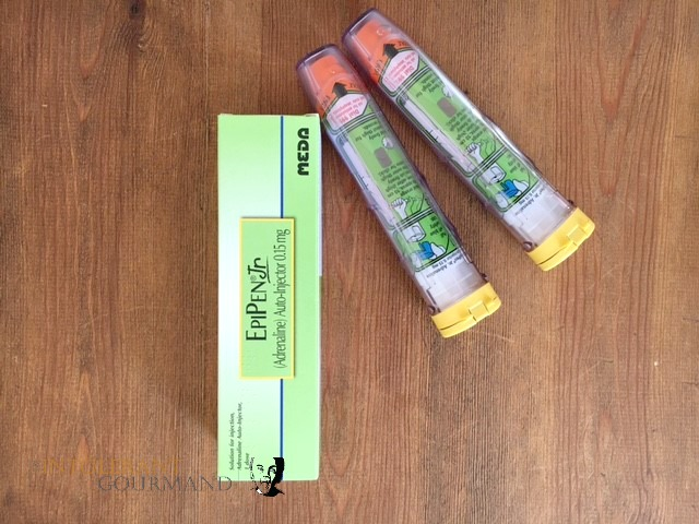 Epi pens - auto injector pens for use when having a severe allergic reaction! www.intolerantgourmand.com