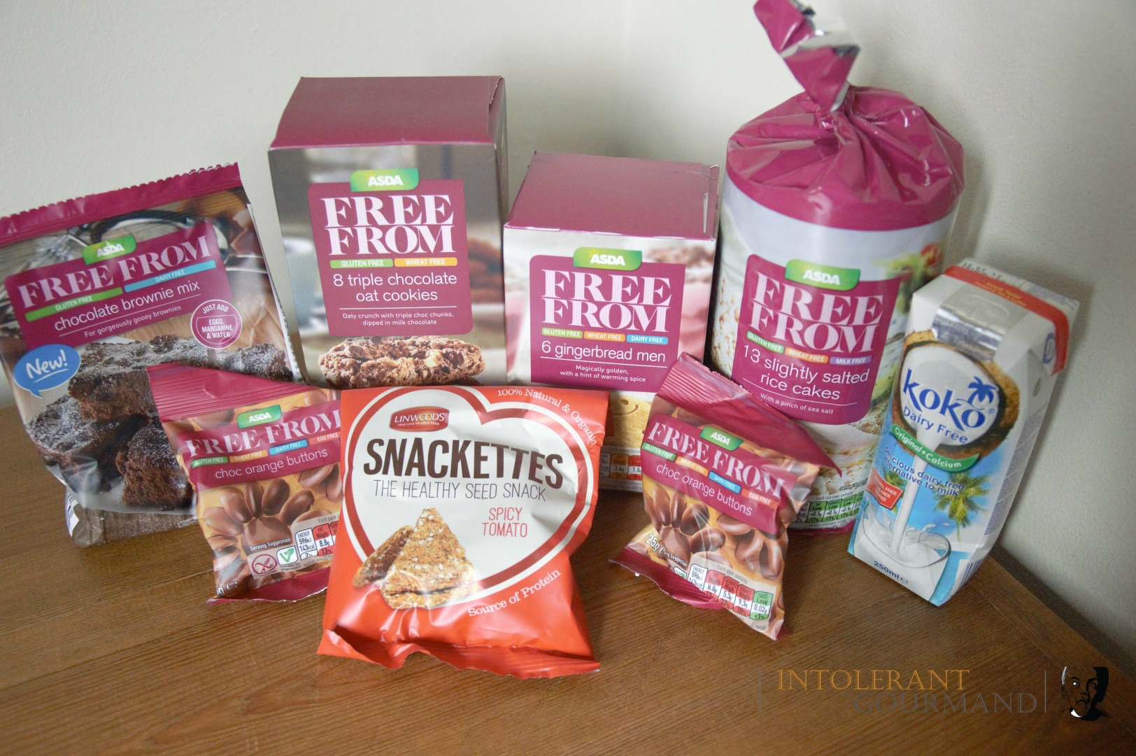 Asda Free From Rice Cakes