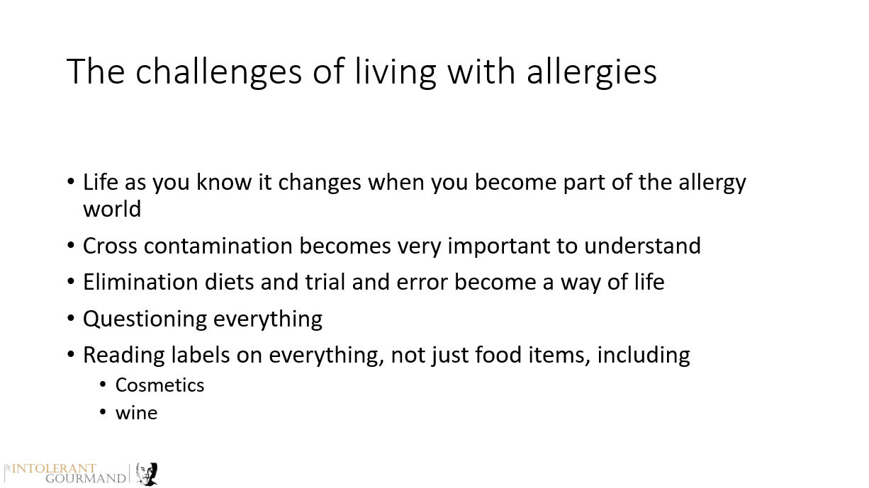 BSACI Managing Anaphylaxis from a Parent Perspective - Learning how to live positively with allergies and also successfully with allergies! www.intolerantgourmand.com