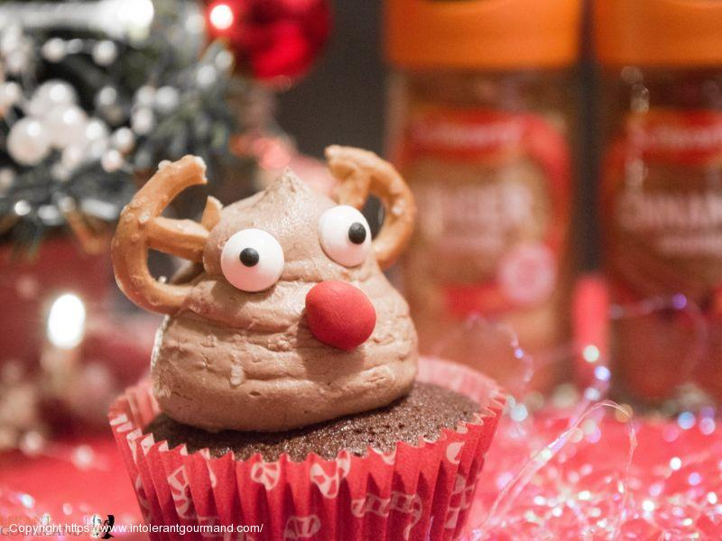 Mince Pie Brownie Cupcakes