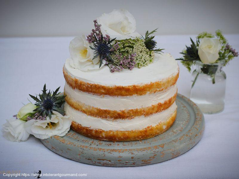 Elderflower & Lemon Cake