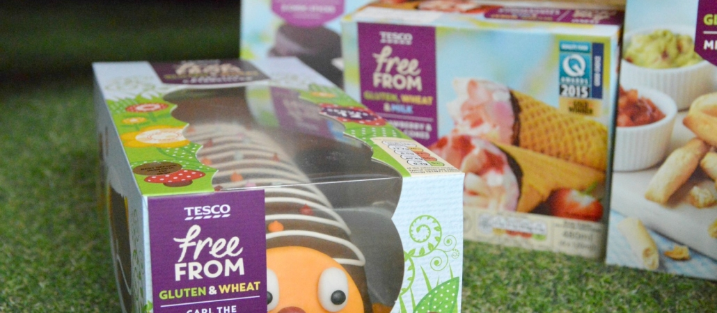 Discovering the new Tesco Free-From Range with The Allergy Show