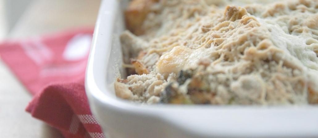 Broccoli & Cauliflower Crumble