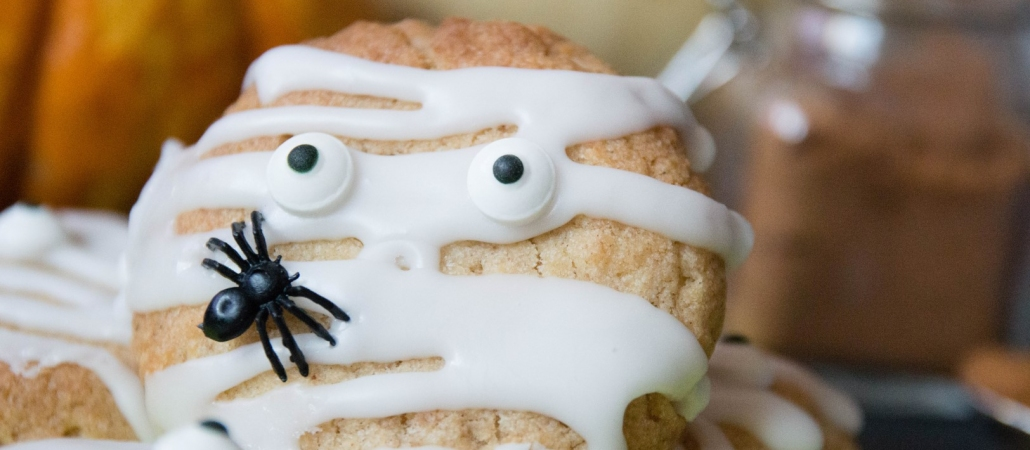 Halloween Cookies - gluten-free & vegan!