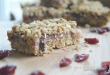 Cranberry Crumble Bars & A Free From Christmas