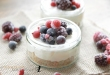 Fruity mini cheese cake